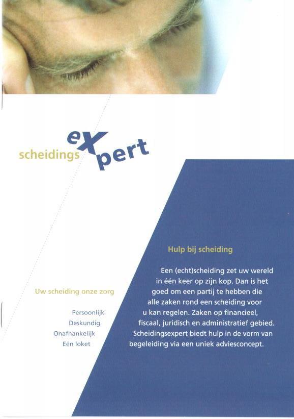 Brochure Scheidingsexpert